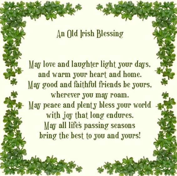OldIrishBlessing Mar 17 2013